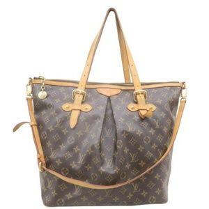 💯 Auth Louis Vuitton Palermo GM Satchel Bag